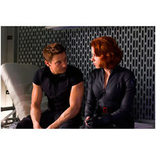 Jeremy Renner as Hawkeye Scarlett Johansson as Black Widow 8 x 10 Inch Photo