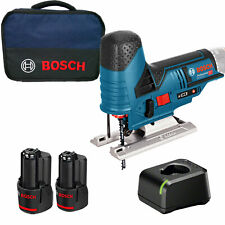 Bosch Akku-Stichsäge GST 12V-70 12 V / 2x 3,0 Ah Akku + Ladegerät im Softbag