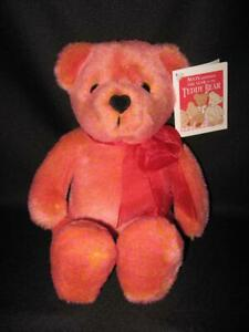 NWT ~ AVON VALENTINO THE LOVE BEAR Plush Teddy Bear Talks & Responds To You 2002