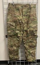 New Multicam OCP Army Combat Pants w Knee Pad Slots, Flame Resistant, LARGE REG