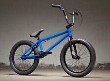 "2019 Kink Curb 20"" BMX Bike Matte Aquatic Blue Complete BMX Bike"