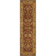 Safavieh Heritage Red / Natural Wool Runner 2' 3 x 12'