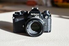 Nikon FE 35mm + Nikon 50mm f1.8 AIS
