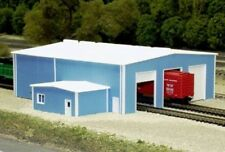 Pikestuff (N-Scale) #541-8014 The Shops Building Kit (blue) - NIB