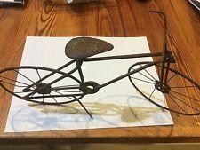 19thC MINIATURE HANDMADE IRON MODEL OF BICYCLE CHARLESTON SC ORIGIN