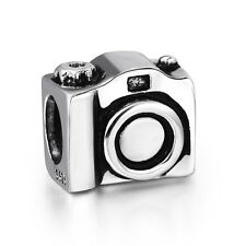 Handmade Camera Hot Design 925 Silver European Charms For Sterling Bead Bracelet