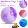 Yoga Ball 65cm Exercise Workout Home Gym Balance Pregnancy Anti-Burst With Pump