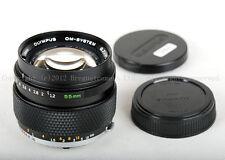 Olympus OM G.ZUIKO AUTO-S 55mm f/1.2 lens for Canon 5D Sony A7 Fujifilm GFX-50s