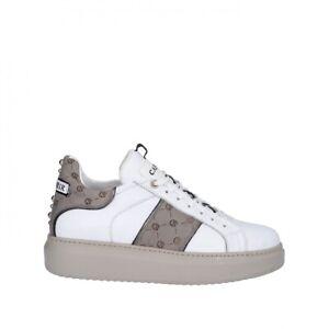 CAFENOIR DE1411 sneakers scarpe donna logato borchie