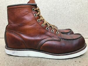 Red Wing Heritage 875 Oro Legacy Moc Mens Leather Boots 9 E