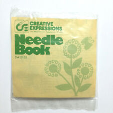 Crewel Embroidery Kit Daisy Needle Book Creative Expressions Vintage Needlepoint