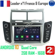 Autoradio Android 10  GPS Bluetooth Multimédia  Toyota Yaris de 2005 à  2011