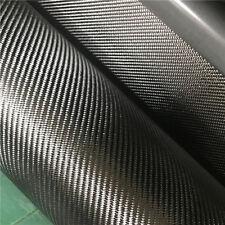 Black Real Carbon Fiber Cloth Fabric 2x2 Twill 3K 6oz/203.43gsm Commercial Grade