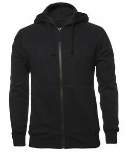 Hoodie full zip adult au sizes warm winter hood fleecy two pockets +FREE beanie
