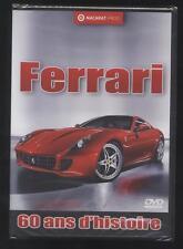 NEUF DVD FERRARI 60 ANS D HISTOIRE SOUS BLISTER VOITURE DOCUMENTAIRE EN FRANCAIS