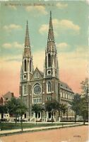 Elizabeth New Jersey~St Patricks Church~1914 Postcard