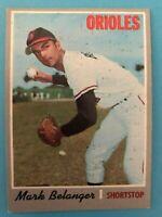 1970 Topps Card #615 Mark Belanger - Baltimore Orioles