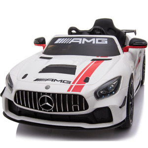 Kids Electric Ride On Mercedes GT4 AMG White