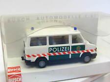 Busch 43247 FIAT DUCATO POLIZIA OVP (n6416)