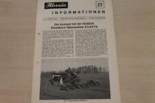177125) Hassia - Informationen Nr.22 - Prospekt 11/1969