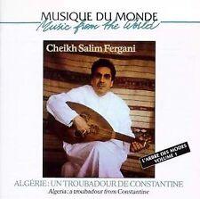 FREE US SHIP. on ANY 3+ CDs! NEW CD Fergani, Cheikh Salim: Algeria: Troubadour F