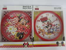 Disney Mickey Mouse Wall 25cm Clock Ideal Birthday Gift Oh Boy