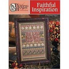 Tabla de puntada cruzada inspiración fiel/libro de patrones (Rezando Manos) -37 Diseños