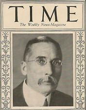 Time Magazine April 27,1925 Premier Of The U.S.A.