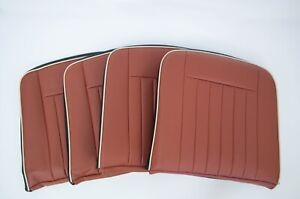 Land Rover Defender 90 Replacement Seat Covers - (6-Seat Kit) - TAN VINYL