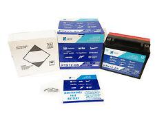 Batterie PTX12-BS YTX12-BS Piaggio Original SYM Joie Max GTS E3 c.-à- 250 07-08