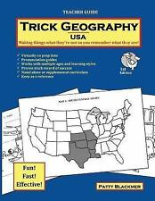 Trick Geography: Trick Geography: USA--Teacher Guide : Making Things What...