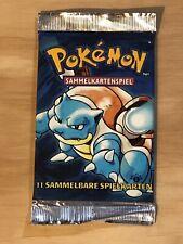 Pokemon German 1st Edition Blastoise Booster Pack 20.4 Grams