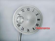 HR B-Uhr Flieger Pilot Guilloche Roman Watch Dial ETA Unitas 6497 ST36 Movement