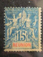 2051 FRENCH  REUNION  SC#  41   UNUSED        CV $30