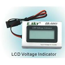 Battery Tester INDICATORE DI TENSIONE DIGIT. EK2-0906 (4-13V) + BATTERIA OMAGGIO