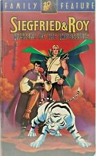 Siegfried and Roy Masters of the Impossible aka Legend of Sarmoti Vhs 1996