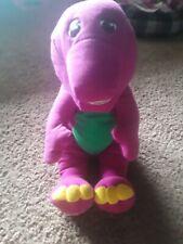 Vintage Barney the Dinosaur 1996 Playskool Talking Interactive Plush Stuffed Toy