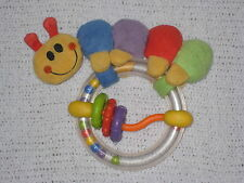 Baby Einstein Caterpillar Rattle Ring Original Version