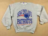 NEW ENGLAND PATRIOTS M Russel Athletic Pro Line 1995 USA MADE Pullover Sweat M