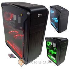 CASE CORTEK GENESIS GAMING ATX 2.0 3XFAN 15 LED RGB 7 COLORI TELECOMANDO GENESI