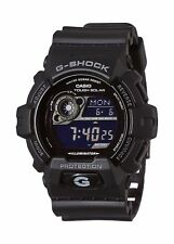 Casio G-Shock Men's Digital Display Resin Bracelet Watch Black