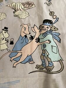 Moomin  Characters curtain 70X 59  inch Finlayson