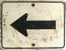 "TIN SIGN ""Left Arrow"" Deco Garage Wall Decor"