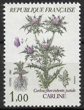 FRANCE TIMBRE NEUF  N° 2266  ** FLORE CARLINE CARLINA FLORE RUBENTE