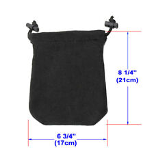A99 Golf Valuable Pouch Accessories Jewelry Bag New Black 2pcs