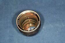 Nikon Rangefinder lens f=50mm NIKKOR-N 1:1.1 Nippon Kogaku JAPAN Near MINT RARE