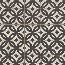 Rasch Faux Effect Tile Pattern Wallpaper Realistic Vintage Abstract Floral Motif