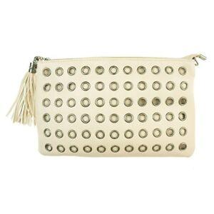 Unidecor Pink Fashion Envelope Handbag PU Cross Body Ladies Bags