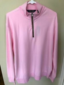 NWT Polo Ralph Lauren Men's Large Eastwood Ho 1/4 Zip Pullover-Beautiful Color!