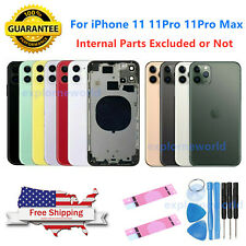 New iPhone 11/ 11 Pro/ 11 Pro Max Back Rear Glass Housing Battery Cover & LOGO